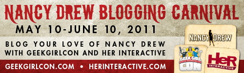 GeekGirlCon and Her Interactive present a Nancy Drew Blogging Carnival