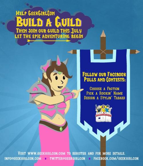 Help Geek Girl Con Build A Guild
