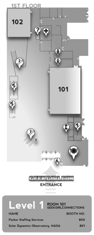 Level 1 Map of The Conference Center