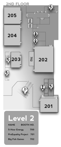 Level 2 Map of The Conference Center