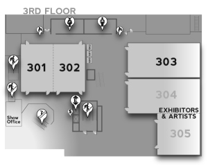 Level 3 Map - The Conference Center - GeekGirlCon 2012