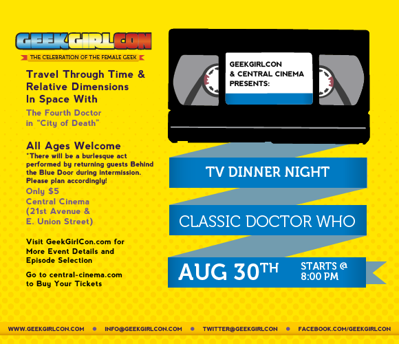 TV Dinner Night at Central Cinema August 30 2012