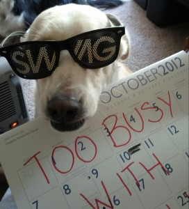 Wally the Dog is too busy this October with so many nerd events!