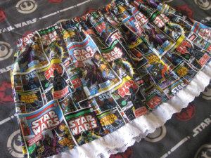 Star Wars Comics Skirt courtesy of Meg at The Force is Strong with this one