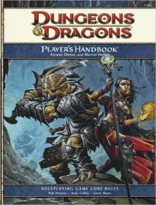 Dungeons and Dragons Players Handbook, 4th Edition