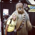 Shubz and Chewie at GeekGirlCon 2012.