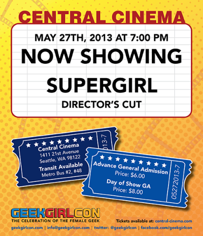 Supergirl at Central Cinema