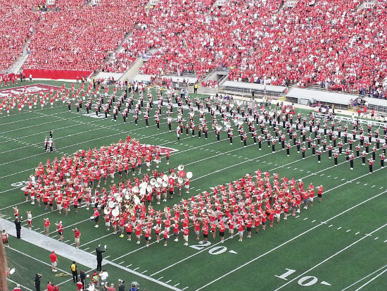Wisconsin Alumni Marching Band, 2012 reunion