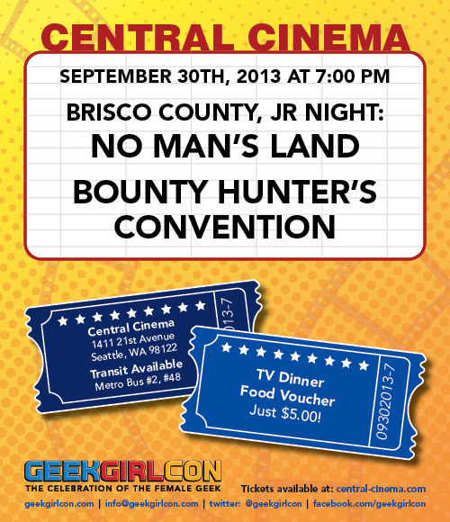 brisco county jr. at central cenema
