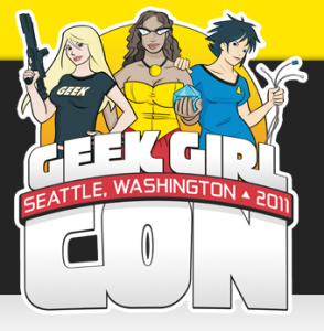 The very first GeekGirlCon logo!
