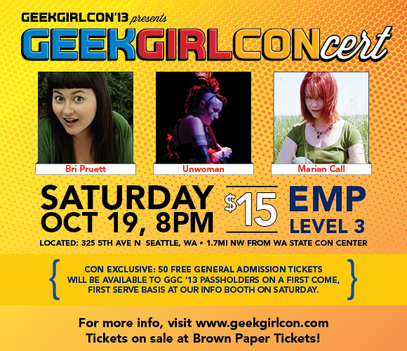 GGCONcert Saturday October 10