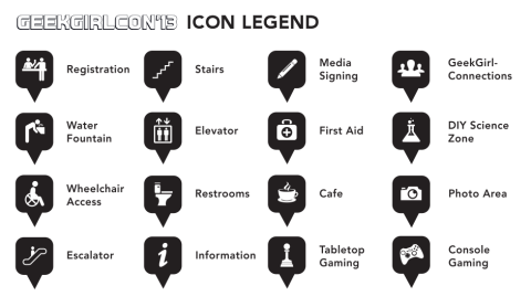Icon Legend for GGC 2013 Maps