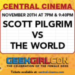 GGC & Central Cinema Present Scott Pilgrim vs The World