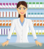 This is what I would have looked like behind the pharmacy counter!
