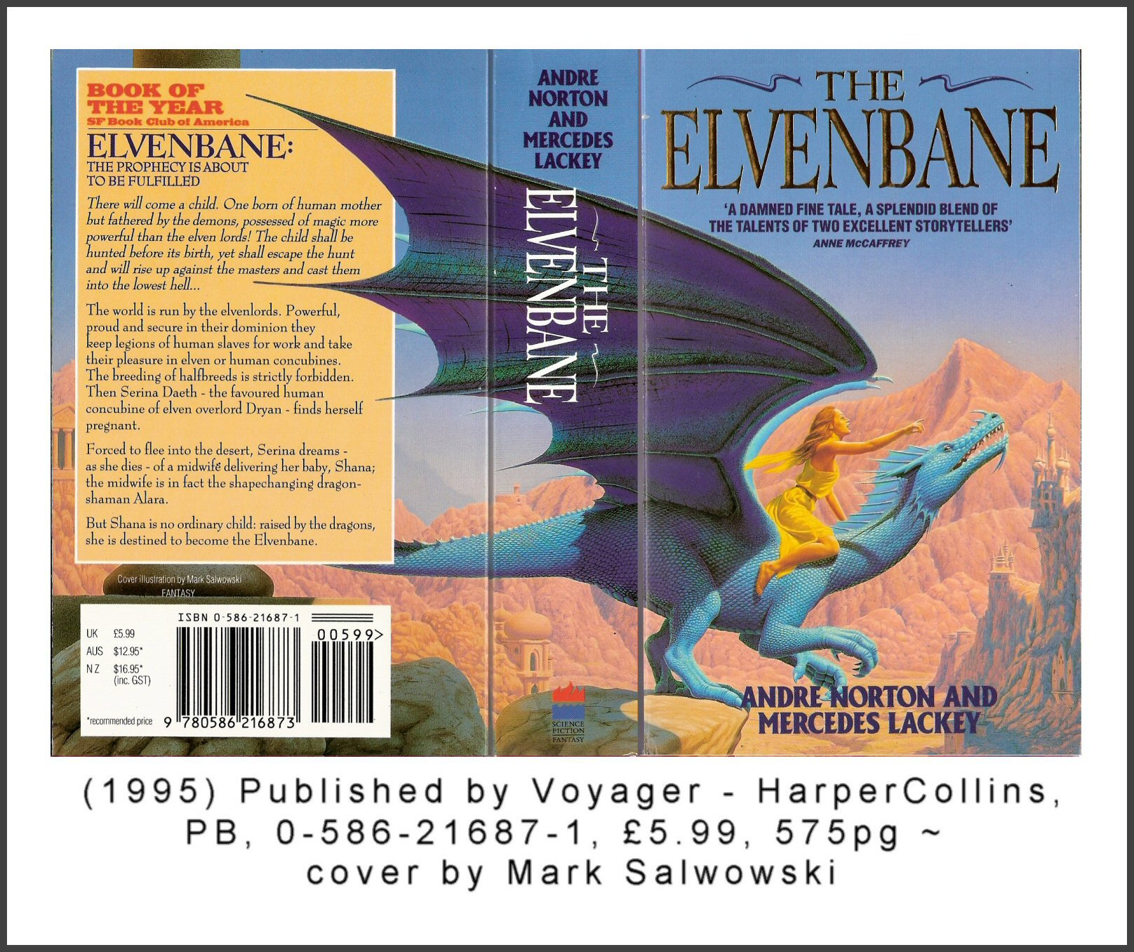 Another Elvenbane cover